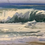 Gia  Moody - Plein air at the Montage Hotel- meet at the Lookout point