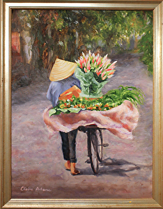 Hanoi Flower Lady, Claire Adams