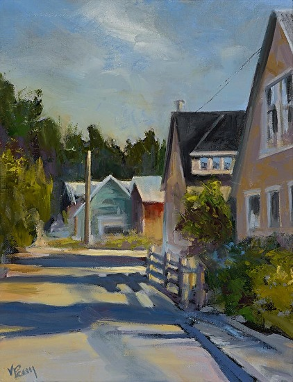 Home Town Alley - Oil