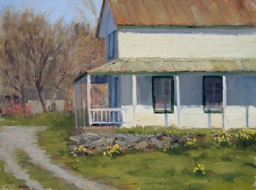 It Might As Well Be Spring by Kathleen Dunphy Oil ~ 12 x 16