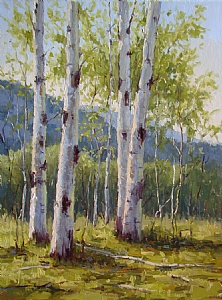 Spring in Acadia by Kathleen Dunphy Oil ~ 24 x 18