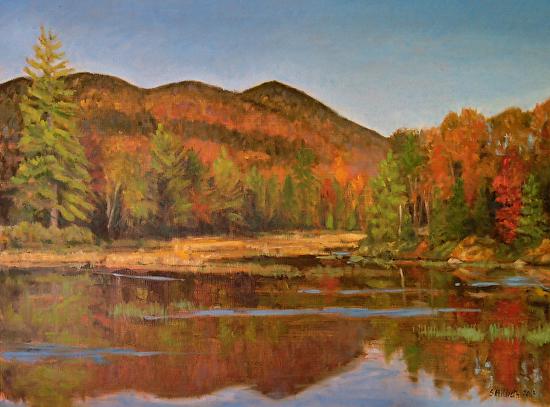 Tupper Lake Colors, 9/24/13 - Oil