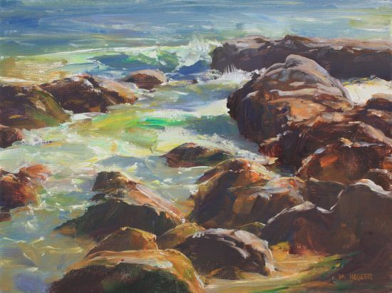 Tidal Waters - Oil