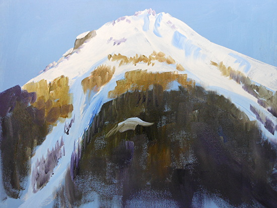 Kendall Mtn Evening - Oil