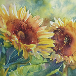 Yvonne Hemingway - Painting Luminous Florals in Watercolor - Destination Art Retreat