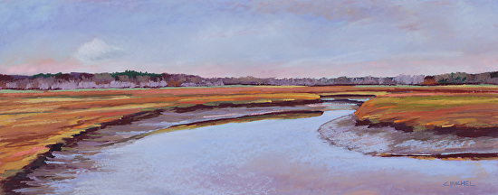 Scarborough Marsh 51 - Pastel
