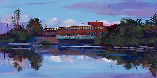 Presumscot River 2 - Acrylic