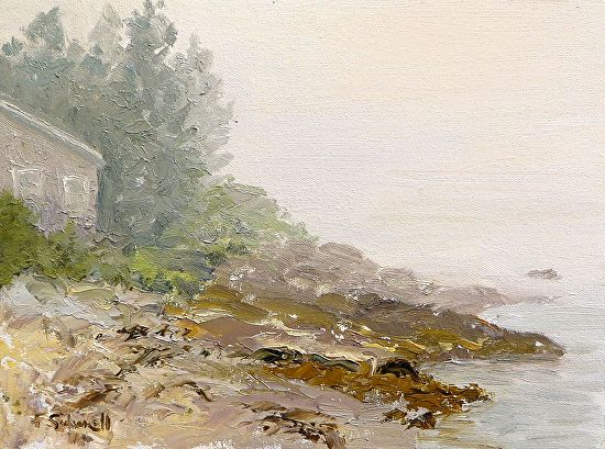Grimes Cove Fog - Oil