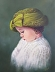 """""""Angel in a Green Hat"""" by Mary Opat"""