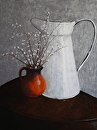 Pitchers by Ann Vaillencourt Pastel ~ 43 x 33