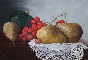 Sunday Afternoon by Ann Vaillencourt Pastel ~ 31 x 42