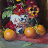 pansies and oranges