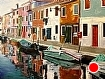 "Morning in Burano, Italy by Wes Hyde Oil ~ 36"" x 48"""