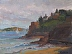 Dinard Cliffs by Michelle Golias
