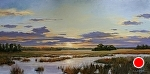 Be Still by Paula B. Holtzclaw Oil ~ 12 x 24