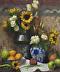 Sunflowers and Fruit by Zachery Elletson