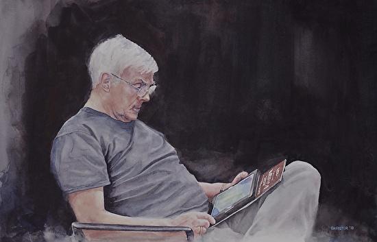 Steve - Watercolor