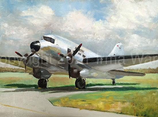 DC3 Airborne - Oil