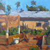 Kilnerart, Plein Air_The Allotment, Van Nuys March 17th 2014