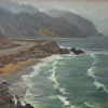 Kilnerart_Foggy day at Point Mugu_11x14_April 2013