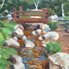 Kilnerart_Creek Park and Stream_9x12_2011