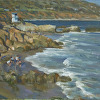 Kilnerart_Leo Carrillo_Beach in Afternoon with People_May 16th 2014