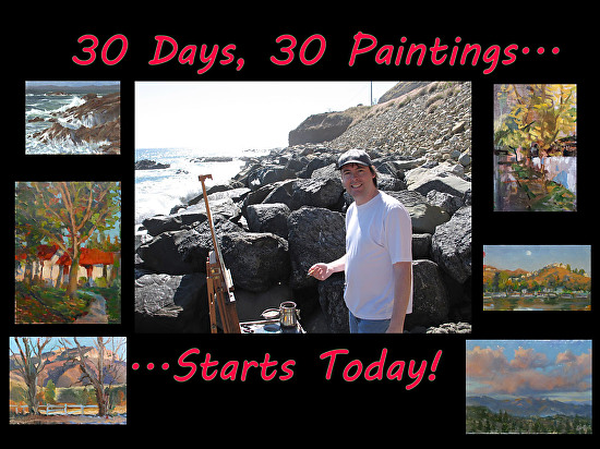 Martin_Plein Air Painting_30 Day Mission_Oct 2nd 2014 -