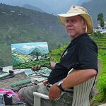"Pikes Peak Plein Air Painters - ""God Made Winter For Watercolors"" @ by David Rankin"