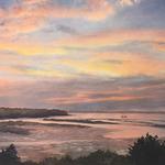 Susan Lynn - Luminous Clouds in Watercolor