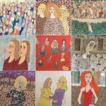 ART GROUP GALLERY - Ike Garlington Sidewalk Caricatures