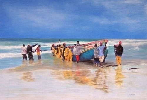 Just Another Day - Senegal - Pastel