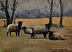 Mr. Shew's Sheep series by john reynolds - Oil