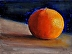 Tangerine by john reynolds - Oil