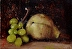 White Grapes with Pear by john reynolds - Oil
