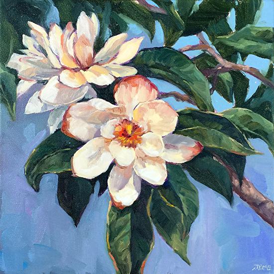 Sweet Magnolias - Oil