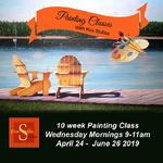 Kim Stubbs - 10 Wk Morning Painting Class (acrylic or oil)