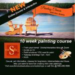 Kim Stubbs - 10 Wk Evening Painting Class - online via Zo