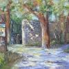 Gate at Moulin de la Roque