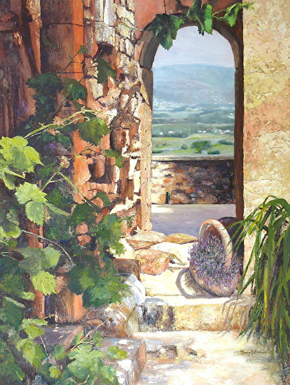 Passageway to Provence - Oil