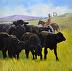 Cattle Drive by Jeff Ott