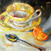 Citrus and Teacup