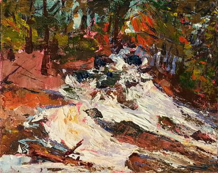 Duchesnay Little Falls 8x10 -