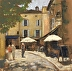 Midday in Lourmarin, Provence by Lorraine Valentiner