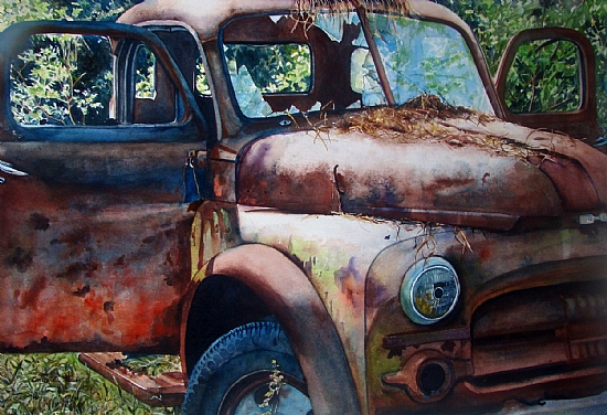 Rust in Peace - Watercolor