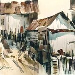 Sterling Edwards - Morgantown, WV, Watercolor from A to Z