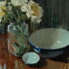 flowers and bowls