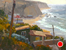 Cove Lookout by Jim Wodark Oil ~ 9 x 12
