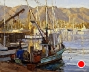 Evening Harbor by Jim Wodark Oil ~  x