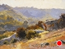 Laguna Canyon Light by Jim Wodark Oil ~ 12 x 16