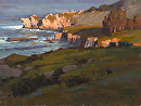 Rocky Point by Jim Wodark Oil ~ 12 x 16